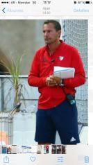 Walter Conna (Coordinador de Selecciones ASHSCyP y Entrenador de Primera División de Damas UNSJ)
